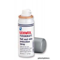 Защитный спрей для ногтей Fusskraft 50 мл Геволь