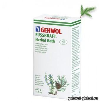 Травяная ванна Fusskraft 10 пакетов по 20 гр Геволь